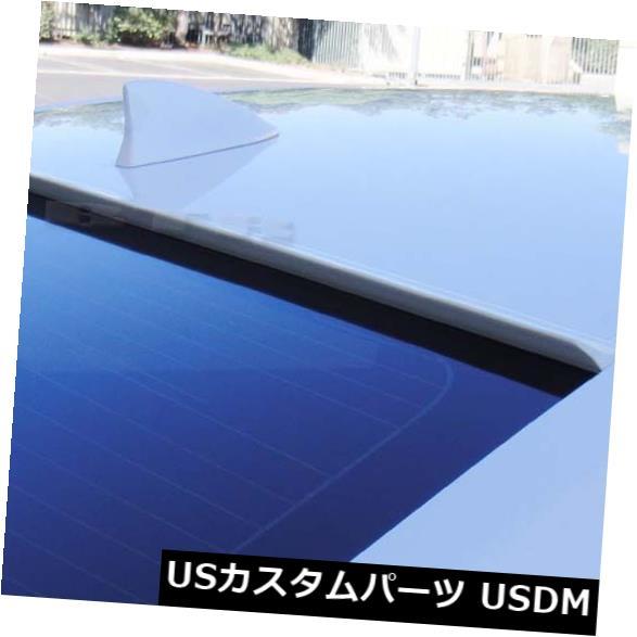 ルーフスポイラー ホワイトペインテッドフィット2004-2008アウディA4セダンB7-リアウィンドウルーフスポイラー White Painted Fit 2004-2008 AUDI A4 SEDAN B7-Rear Window Roof Spoiler