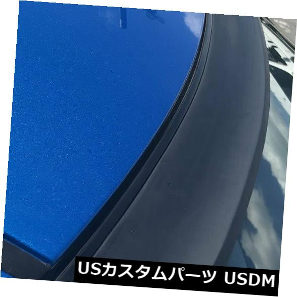 ルーフスポイラー 10?11アウディA6 C6セダンのための平らな黒いPUG 144そして後部窓の屋根のスポイラーの翼 Flat Black PUF 144 ANX Rear Window Roof Spoiler Wing For 10~11 Audi A6 C6 Sedan
