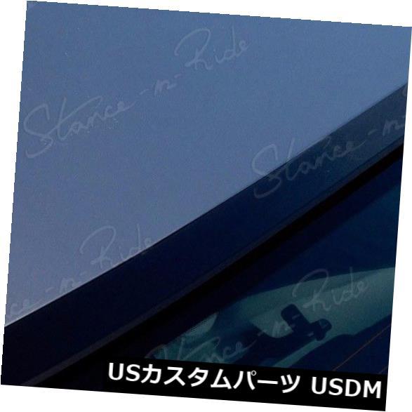 ルーフスポイラー StanceNrideリアルーフスポイラーウィンドウウイング(フィット:Toyota Corolla 2009-10) StanceNride Rear Roof Spoiler Window Wing (Fits: Toyota Corolla 2009-10)