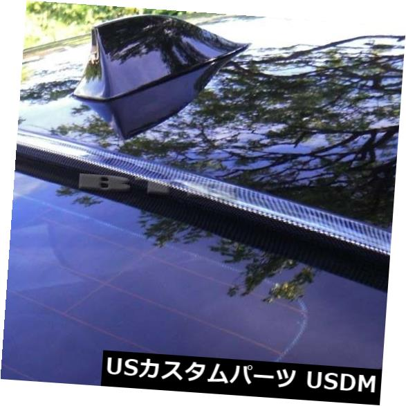 ルーフスポイラー 2005-2012トヨタアバロン3rd Genカーボンルックリアウィンドウルーフスポイラー For 2005-2012 TOYOTA AVALON 3rd Gen Carbon Look Rear Window Roof Spoiler