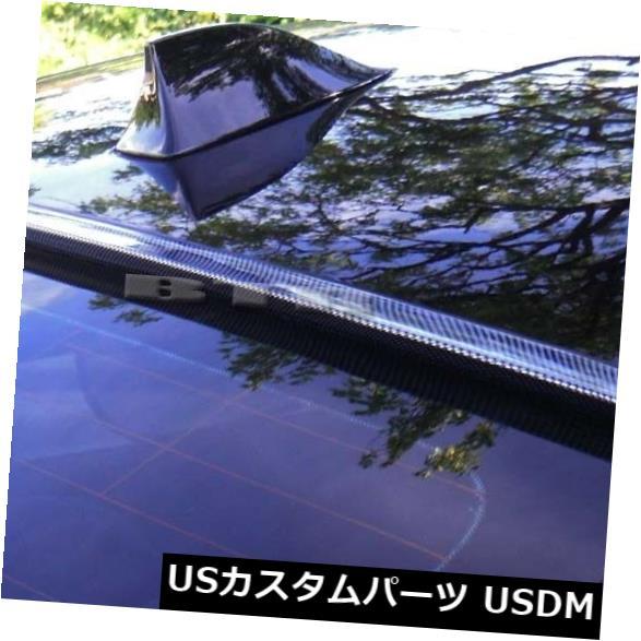 ルーフスポイラー 1996-2003 BMW 5シリーズE39 4Dカーボンルックリアウィンドウルーフスポイラー用 For 1996-2003 BMW 5-Series E39 4D Carbon Look Rear Window Roof Spoiler