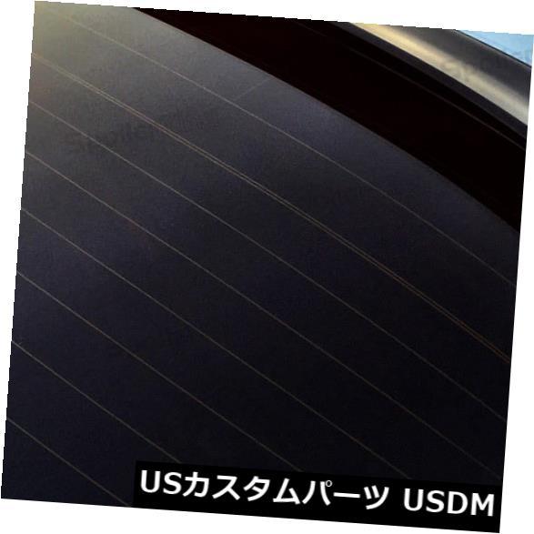 ルーフスポイラー StanceNride 284Rリアルーフスポイラーウィンドウウイング(フィット:日産Versa 2012?4dr) StanceNride 284R Rear Roof Spoiler Window Wing (Fits: Nissan Versa 2012-on 4dr)