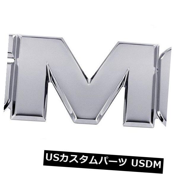 USメッキパーツ グリルエンブレムAMI '' GMC ''ポリッシュGMC 07 NBS-14 Sierra 1500/2500/3500フロント Grille Emblem-AMI ''GMC'' Polished GMC 07 NBS-14 Sierra 1500/2500/3500 Front