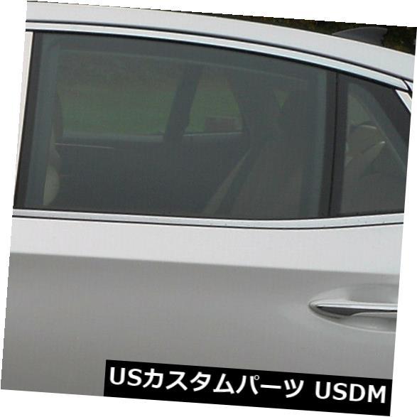 USメッキパーツ ポリッシュドピラーポストトリム6pcs(適合:2018-2019レクサスLS500セダン) Polished Pillar Post Trim 6pcs (fits: 2018-2019 Lexus LS500 Sedan)