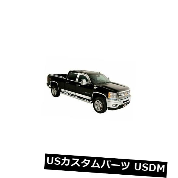 USメッキパーツ Putco 9751204ロッカーパネルカバーステンレスポリッシュ6インチ幅シボレーキット Putco 9751204 Rocker Panel Covers Stainless Steel Polished 6 in. Width Chevy Kit