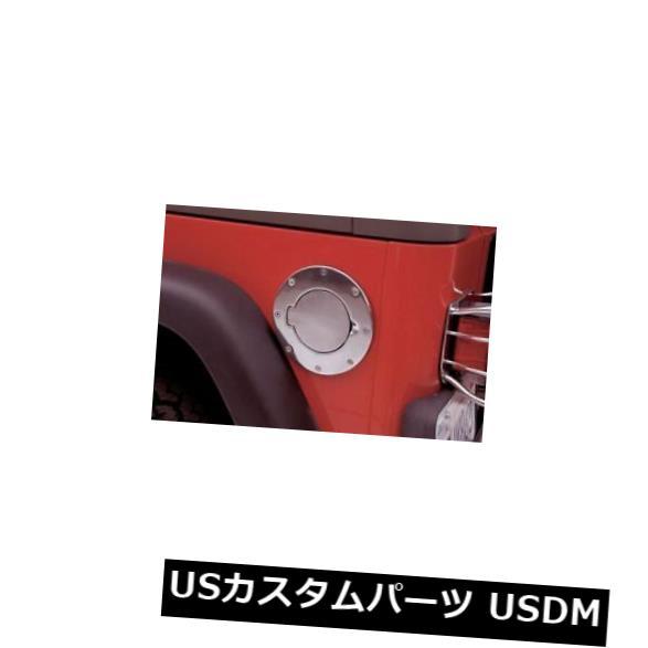 USメッキパーツ Rampage-ポリッシュドガスキャップカバー、ノンロックドア-75000 Rampage - Polished Gas Cap Cover. Non-Locking Door-75000