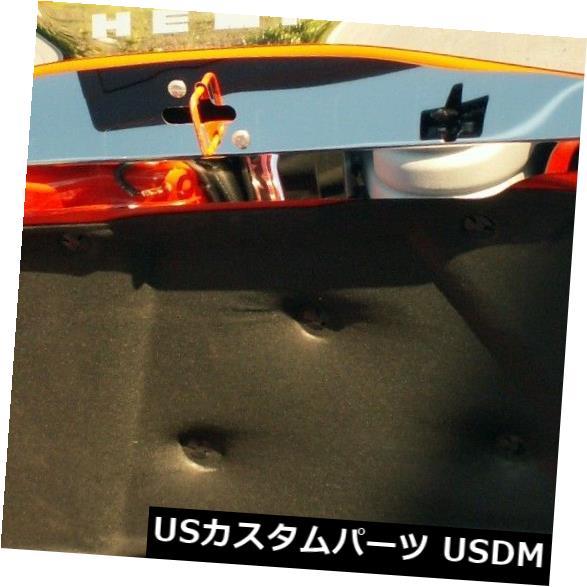 USメッキパーツ 2008-2014チャレンジャーポリッシュドアッパーフードキャップ-153002 2008-2014 Challenger Polished Upper Hood Cap-153002