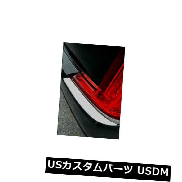USメッキパーツ 2018-2019キャデラックXTSセダンにフィットするポリッシュ仕上げのバンパーキャップトリムアクセント[2pcs] Polished Bumper Cap Trim Accent fit for 2018-2019 Cadillac XTS Sedan [2pcs]
