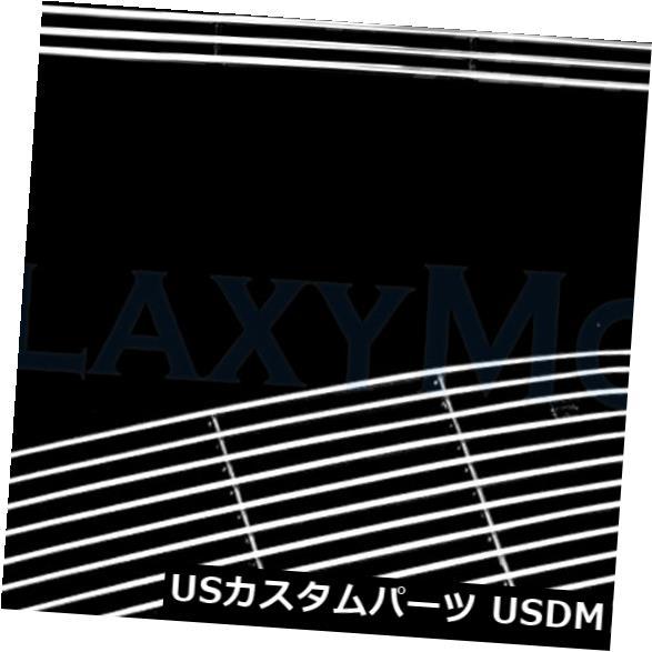 USメッキパーツ 97-98 F150 4WD +エクスペディションポリッシュドバンパーアルミニウムクロームビレットグリルインサート 97-98 F150 4WD+Expedition Polished Bumper Aluminum Chrome Billet Grille Insert