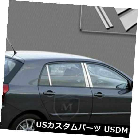 USメッキパーツ MP-671マーキーポリッシュドSSクロームピラーポスト6 PC MP-671 Marquee Polished SS Chrome Pillar Post 6 PC