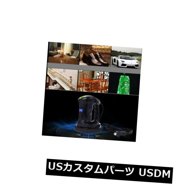USメッキパーツ ポータブル車研磨ワックスマシンクリーナーワックスポリッシャー12 vケアサンダーツール Portable Car Polishing Waxed Machine Cleaner Waxer Polisher 12V Care Sander Tool