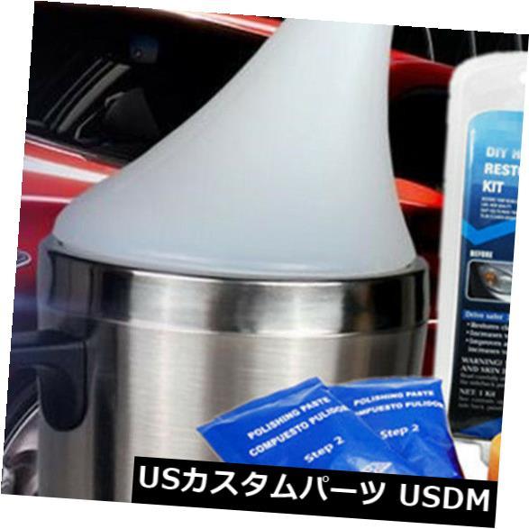 USメッキパーツ プロの車のヘッドライトレンズ修復キットスプレーカップ更新研磨ツール Professional Car Headlight Lens Restoration Kit Spray Cup Renew Polishing Tools