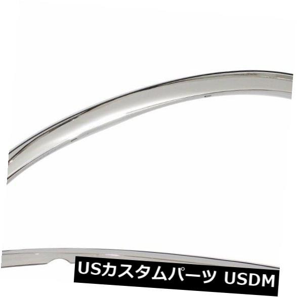 FTDO207 02-09 Dodge Ram 2500//3500 Dually POLISHED Stainless Steel Fender Trim