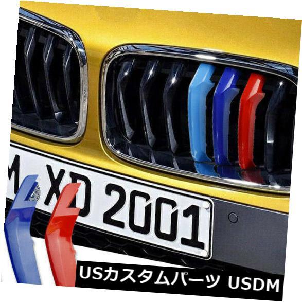 USメッキパーツ BMW X2 F39 2018車のフロントグリルカバートリム腎臓グリルクリップ装飾 For BMW X2 F39 2018 Car Front Grille Cover Trim Kidney Grille Clips Decoration
