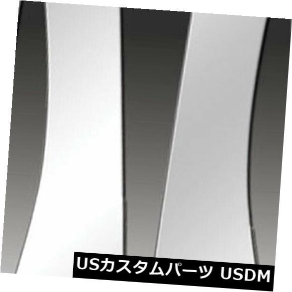 USメッキパーツ 11-12日産クエスト用のプレミアムFX 8個ポリッシュピラーポストカバー(ミラーポスト付き) Premium FX 8pc Polished Pillar Post Covers w/ Mirror Post for 11-12 Nissan Quest