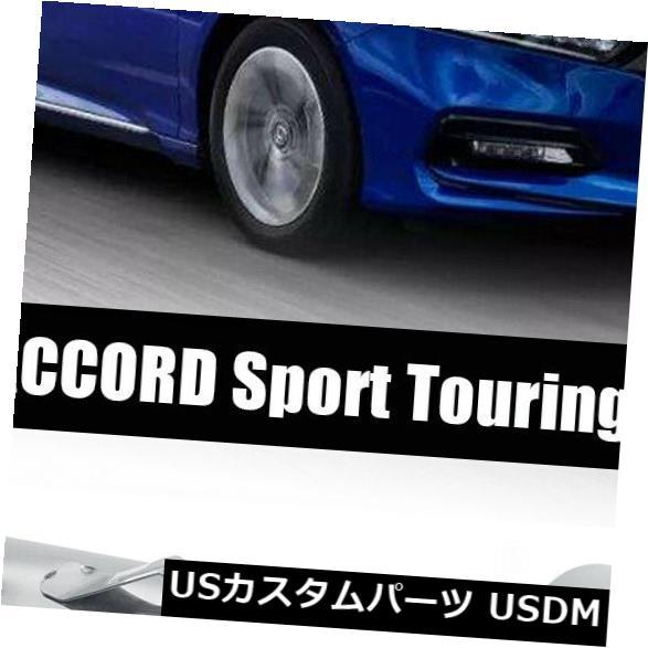 USメッキパーツ Honda Accord 2018-19 Sport Touring AKASAKA QUAD TIP Muffler Exhaust Finisher用 For Honda Accord 2018-19 Sport Touring AKASAKA QUAD TIP Muffler Exhaust Finisher