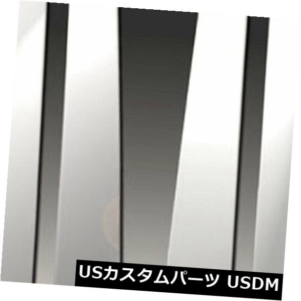 USメッキパーツ 1994-2000メルセデスCクラスW202の柱ポストカバー[6pc研磨済み]プレミアムFX Pillar Post Covers for 1994-2000 Mercedes C Class W202 [6pc Polished] Premium FX
