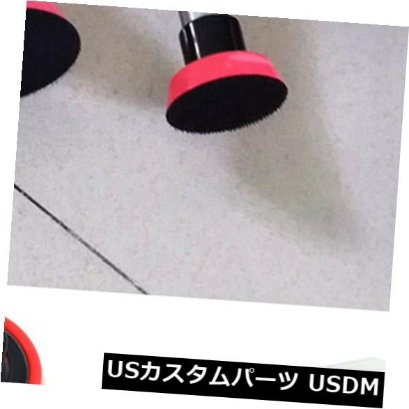USメッキパーツ 3個のスポンジパッド研磨機プレート車ペイントガラスクリーニングM14 1.2