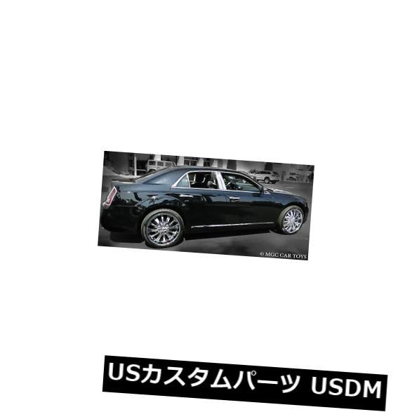 USメッキパーツ 2011-2013クライスラー300 300C 6 Pc高研磨ステンレス鋼柱ポストトリム 2011-2013 Chrysler 300 300C 6 Pc High-Polished Stainless Steel Pillar Posts Trim