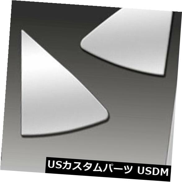 USメッキパーツ 2009-2012マツダMazda6セダンのプレミアムFX 10%研磨柱ポストカバー Premium FX 10pc Polished Pillar Post Covers for 2009-2012 Mazda Mazda6 Sedan