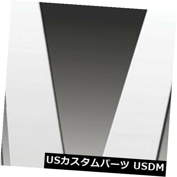 USメッキパーツ 2001-2008ジャガーXタイプ用のプレミアムFX 6%ポリッシュピラーポストカバー Premium FX 6pc Polished Pillar Post Covers for 2001-2008 Jaguar X Type