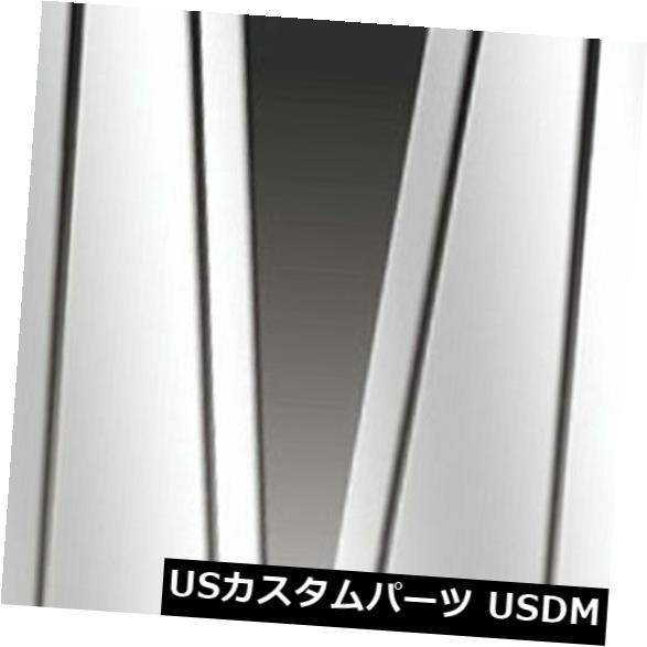 USメッキパーツ 2000-2006 BMW X5シリーズE53用のプレミアムFX 6個研磨柱ポストカバー Premium FX 6pc Polished Pillar Post Covers for 2000-2006 BMW X5 Series E53