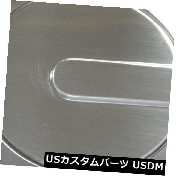 USメッキパーツ 12-17 1500 2500 3500全販売6047P燃料ドアカバーに適合 Fits 12-17 1500 2500 3500 All Sales 6047P Fuel Door Cover