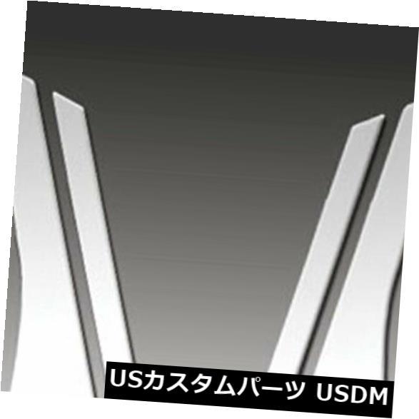 USメッキパーツ 2005-2009ビュイックラクロスのプレミアムFX 8%研磨柱ポストカバー Premium FX 8pc Polished Pillar Post Covers for 2005-2009 Buick LaCrosse