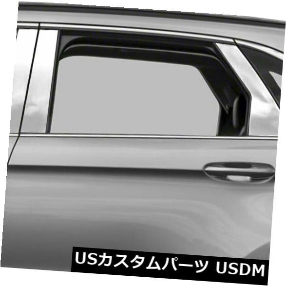 USメッキパーツ 2015-2019フォードエッジ用ダイヤモンドグレード6pcステンレス鋼柱ポストカバー Diamond Grade 6pc Stainless Steel Pillar Post Covers for 2015-2019 Ford Edge