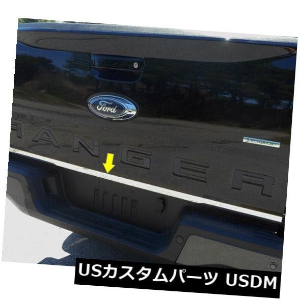 USメッキパーツ RT59345洗練されたクロームテールゲートアクセントトリムフィット2019フォードレンジャー4ドア RT59345 Polished Chrome Tailgate Accent Trim Fits 2019 Ford Ranger 4-door