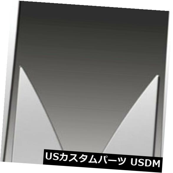 USメッキパーツ 2005-2009シボレー・エクイノックス用のプレミアムFX 6%ポリッシュ・ピラー・ポスト・カバー Premium FX 6pc Polished Pillar Post Covers for 2005-2009 Chevy Equinox