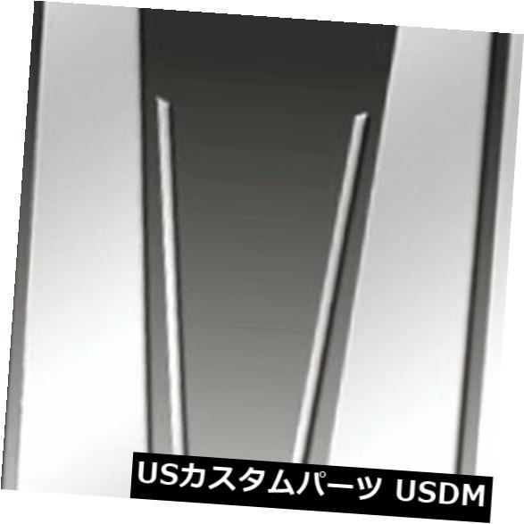 USメッキパーツ 2005-2008 Acura RLのプレミアムFX 6個研磨柱ポストカバー Premium FX 6pc Polished Pillar Post Covers for 2005-2008 Acura RL