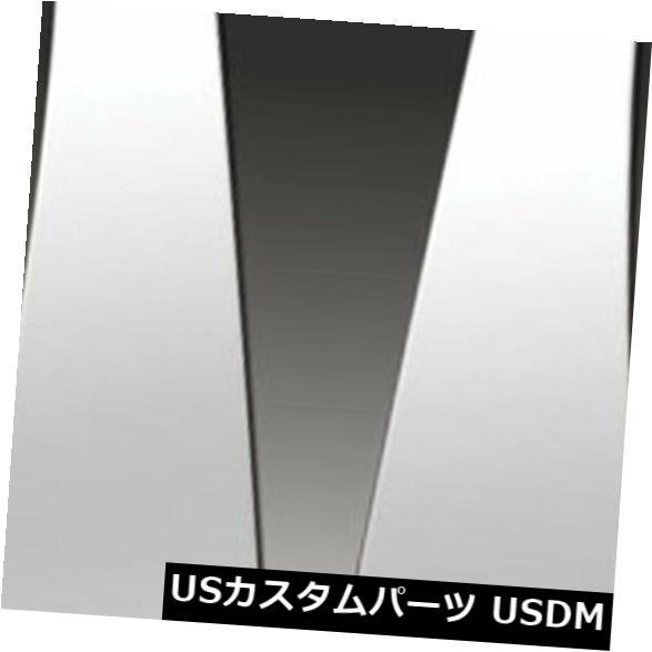 USメッキパーツ 2011-2013トヨタシエナ用プレミアムFX 6%ポリッシュピラーポストカバー Premium FX 6pc Polished Pillar Post Covers for 2011-2013 Toyota Sienna