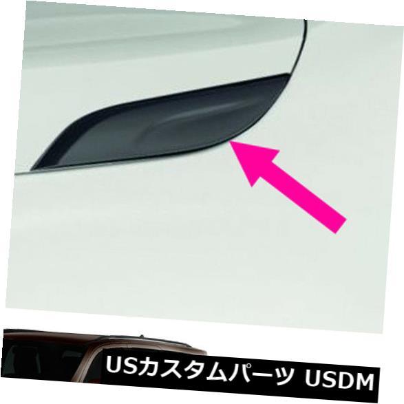 USメッキパーツ トヨタフォーチュナーSuv 2015 18のサイドフードトリム飾り純正ポーランドグレーを設定します。 Set Side Hood Trim Garnish Genuine Polish Grey For Toyota Fortuner Suv 2015 18