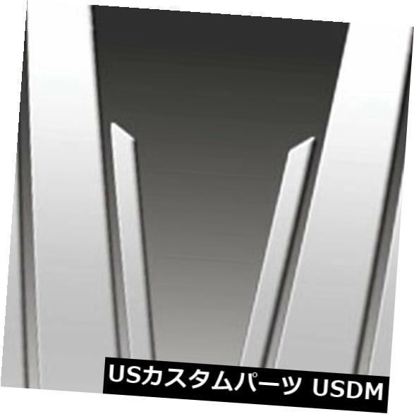 USメッキパーツ 2001-2006 Acura MDXのプレミアムFX 6個研磨柱ポストカバー Premium FX 6pc Polished Pillar Post Covers for 2001-2006 Acura MDX