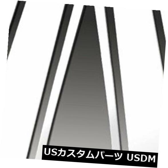 USメッキパーツ 2006-2011ビュイックルツェルンのプレミアムFX 6%研磨柱ポストカバー Premium FX 6pc Polished Pillar Post Covers for 2006-2011 Buick Lucerne