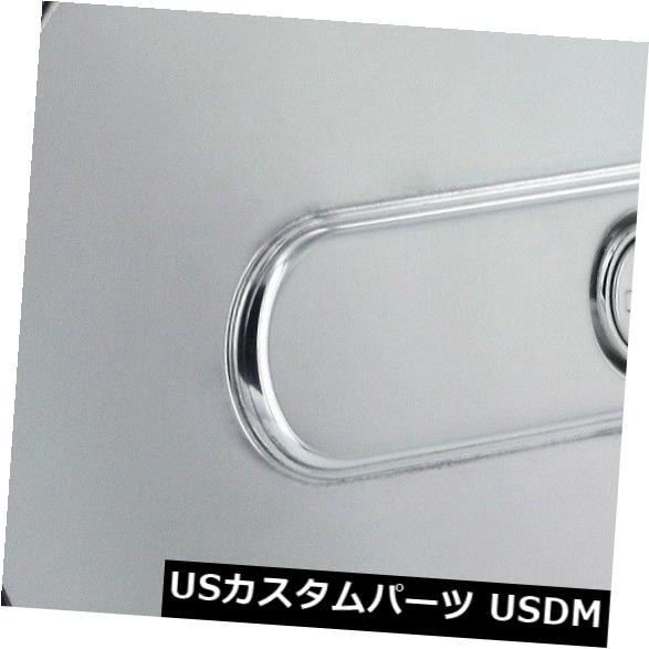 USメッキパーツ すべての販売6901PLストライカースタイルビレット燃料ドア All Sales 6901PL Striker Style Billet Fuel Door