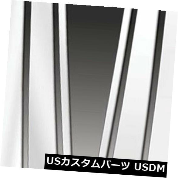USメッキパーツ 2004-2007レクサスLXシリーズ用のプレミアムFX 6%ポリッシュピラーポストカバー Premium FX 6pc Polished Pillar Post Covers for 2004-2007 Lexus LX Series