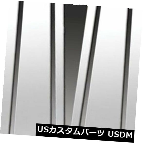 USメッキパーツ 2008?2012年ホンダアコードセダンのプレミアムFX 6%研磨柱ポストカバー Premium FX 6pc Polished Pillar Post Covers for 2008-2012 Honda Accord Sedan