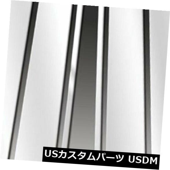 USメッキパーツ 2010-2013 Lexus GXシリーズ用のプレミアムFX 6ピースポリッシュピラーポストカバー Premium FX 6pc Polished Pillar Post Covers for 2010-2013 Lexus GX Series