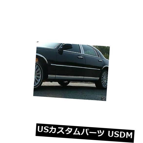 USメッキパーツ リンカーン/メルクゼファー06-UPポリッシュドステンレススチールロッカーパネルに適合 Fits The Lincoln/Merc Zephyr 06-UP Polished Stainless Steel Rocker Panel