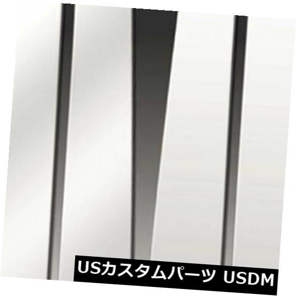 USメッキパーツ 2003-06年インフィニティGシリーズセダンの柱ポストカバー[6pポリッシュ]プレミアムFX Pillar Post Covers for 2003-06 Infiniti G Series Sedan [6p Polished] Premium FX