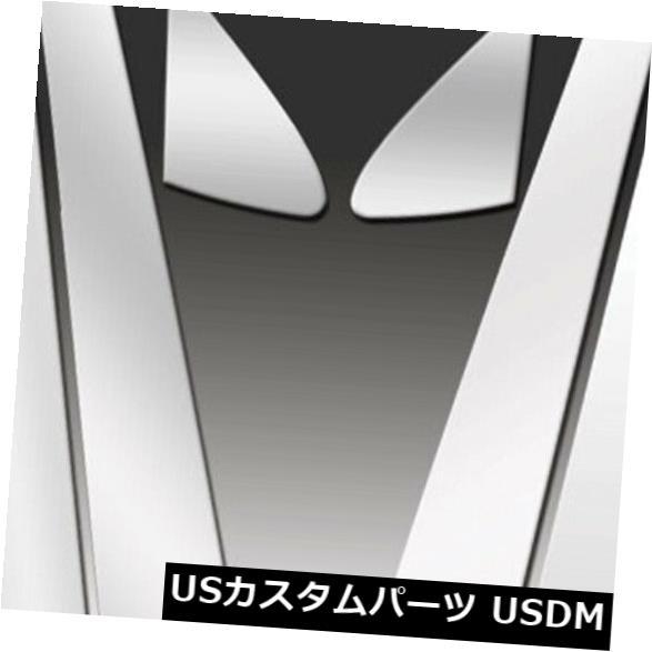 USメッキパーツ RI 52-LELS407-8 LSシリーズポリッシュドステンレス鋼8 PCピラーポスト RI 52-LELS407-8 LS-Series Polished Stainless Steel 8-Pc Pillar Posts