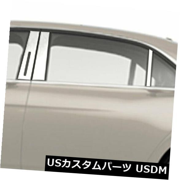 USメッキパーツ 2017-2019リンカーンコンチネンタル6ピースのクロム柱ポストカバー Chrome Pillar Post Covers for 2017-2019 Lincoln Continental 6 Pieces