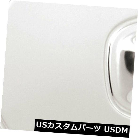 USメッキパーツ 2004-2012 GMCキャニオンのプレミアムFX洗練された燃料/ガスドアカバー Premium FX Polished Fuel/Gas Door Cover for 2004-2012 GMC Canyon