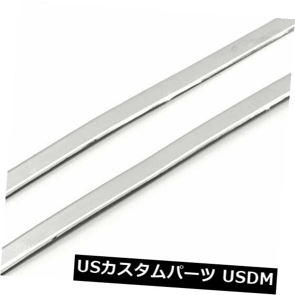 USメッキパーツ 2010-2015シボレーカマロ(ステンレス)に合う2つの柱ポストカバーのセット Set of 2 Pillar Post Covers fit for 2010-2015 Chevy Camaro (Stainless Steel)