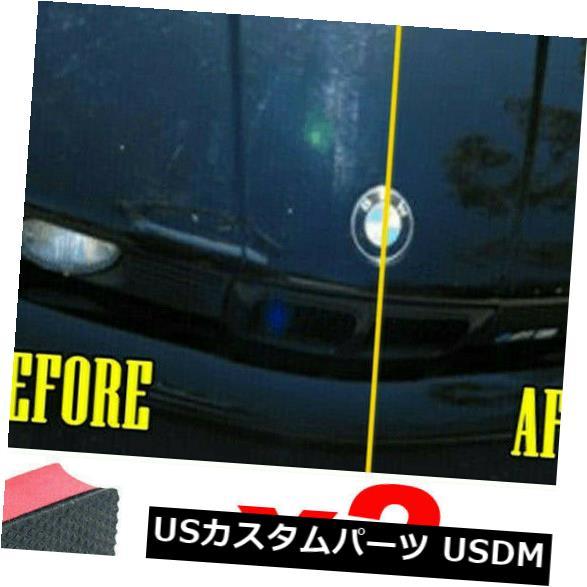 USメッキパーツ 2ピースカークレイバーパッドスポンジブロッククリーナークリーニング消しゴムワックスポリッシュパッドホット 2Pcs Car Clay Bar Pad Sponge Block Cleaner Cleaning Eraser Wax Polish Pad Hot