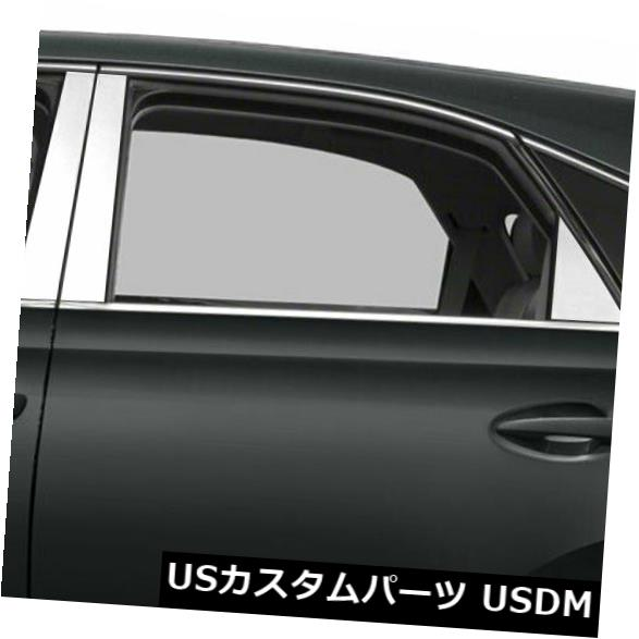 USメッキパーツ 2010-2015レクサスRXのダイヤモンドグレード6%ステンレス鋼柱ポストカバー Diamond Grade 6pc Stainless Steel Pillar Post Covers for 2010-2015 Lexus RX