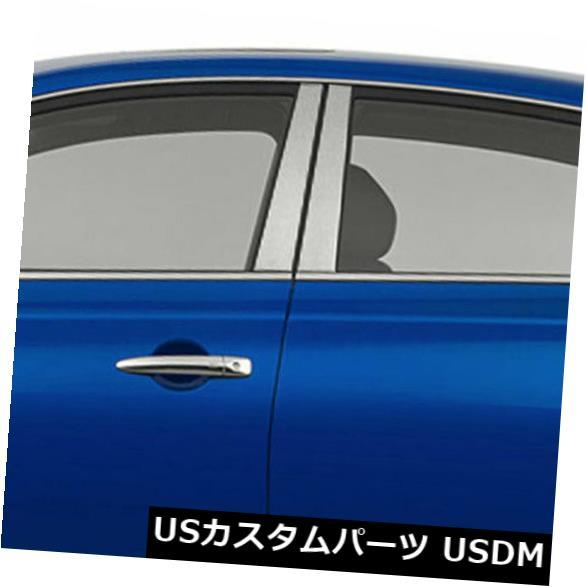 車用品 バイク用品 現金特価 >> パーツ 外装 エアロパーツ その他 USメッキパーツ 2013-2019日産セントラ4dr 4ピースのクロム柱ポストカバー Chrome for 2013-2019 4 Pieces Sentra Post 年末年始大決算 Nissan Covers 4dr Pillar