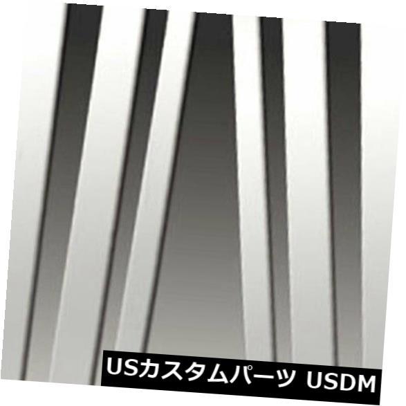 USメッキパーツ 2008-2010 BMW X3シリーズE83の柱ポストカバー[6pc研磨済み]プレミアムFX Pillar Post Covers for 2008-2010 BMW X3 Series E83 [6pc Polished] Premium FX